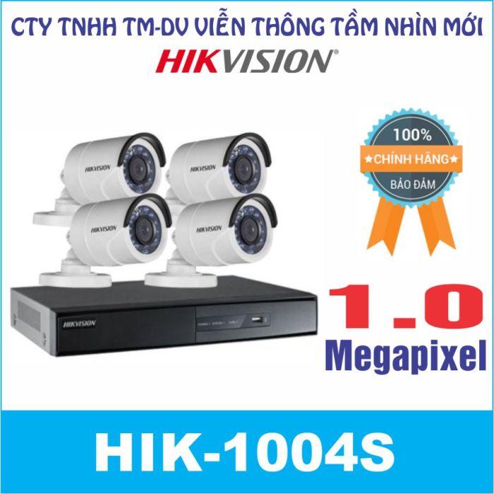 Camera Trọn Gói HIK-1004S